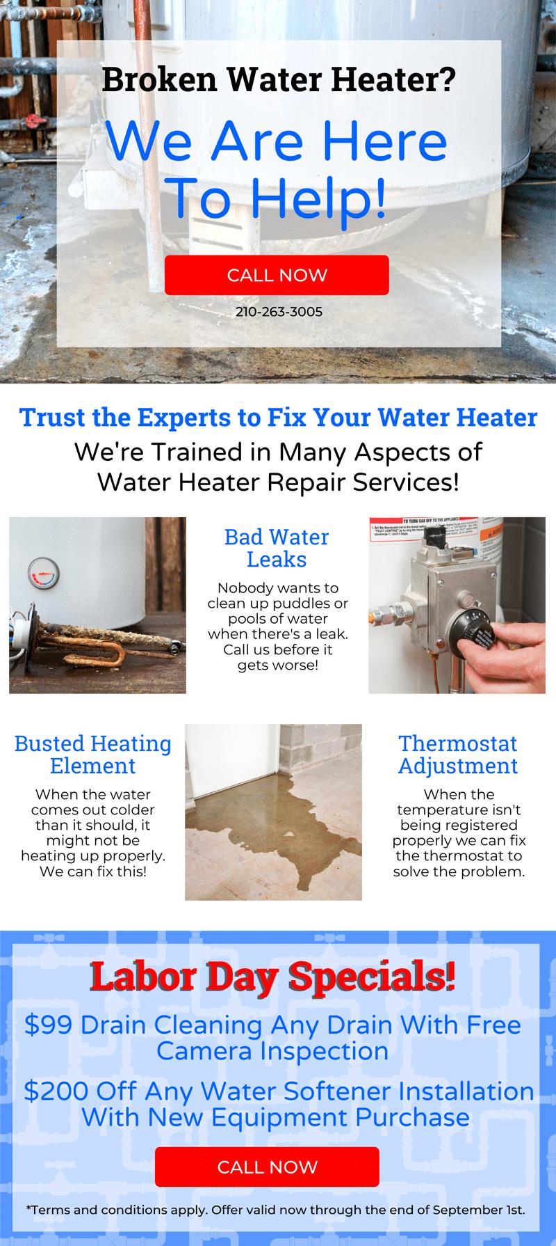 Broken Water Heater? 💦 1