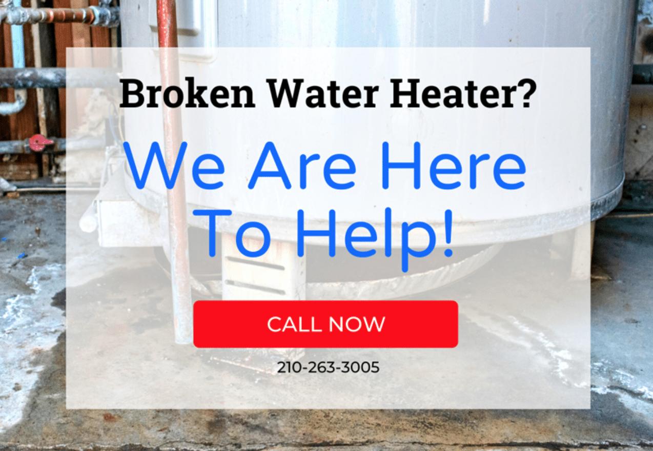 Broken Water Heater? 💦