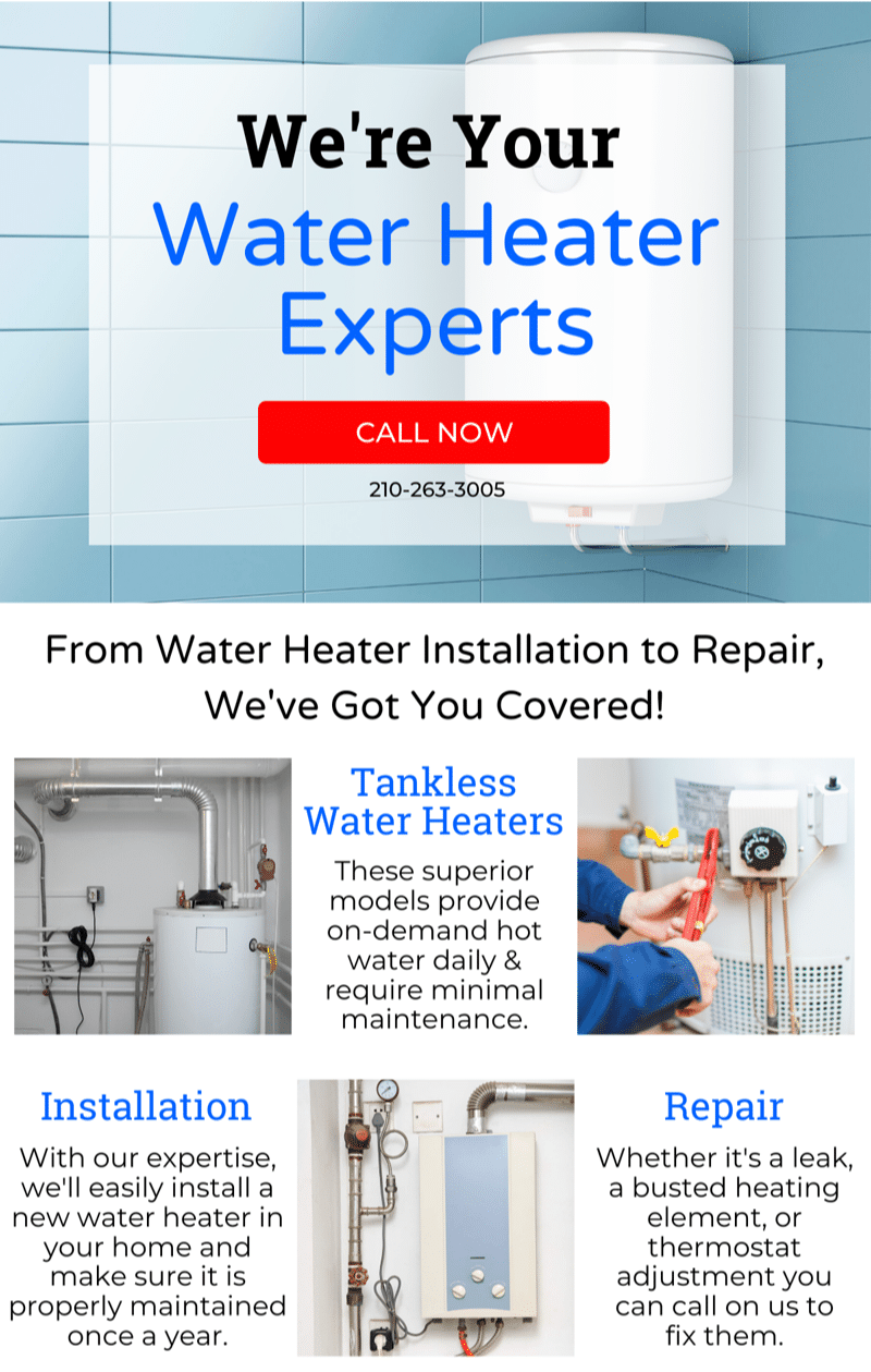 Water Heater Problems? 5